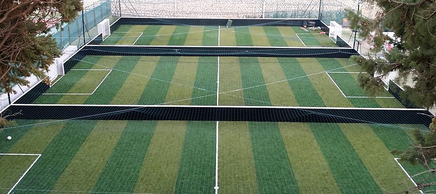 campi da calcetto in erba sintetica